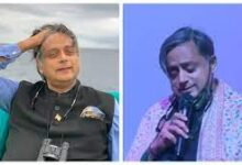 Photo of Shashi Tharoor performs 'Ek Ajnabee Haseena Se' in an 'Oxford accent' in this viral video.